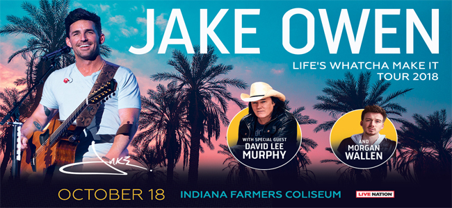 Jake Owen Ticket Giveaway