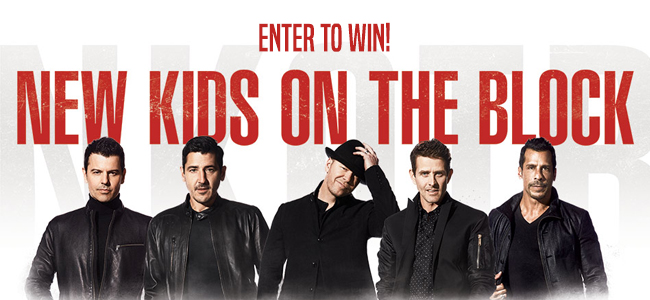 New Kids on the Block Ticket Giveaway