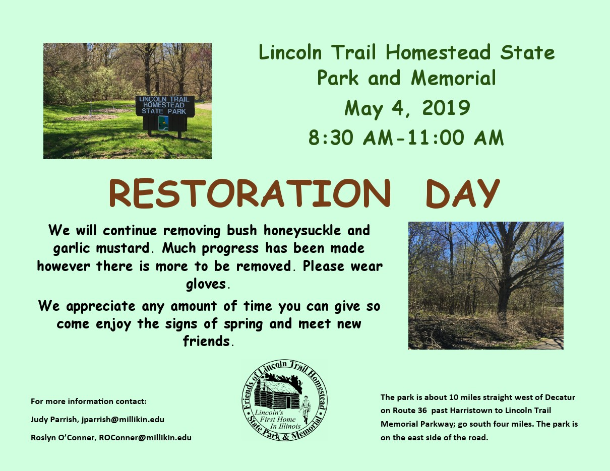 Lincoln Trail Restoration