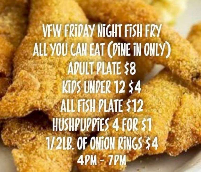 Newton VFW Fish Fry 850