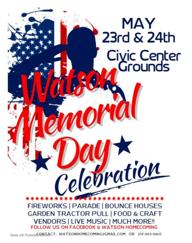 Watson Memorial Day Celebration 850