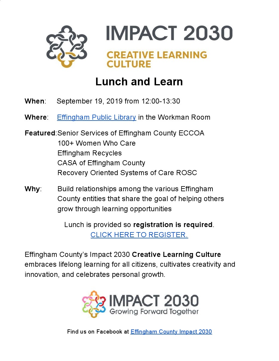 lunch learn impact