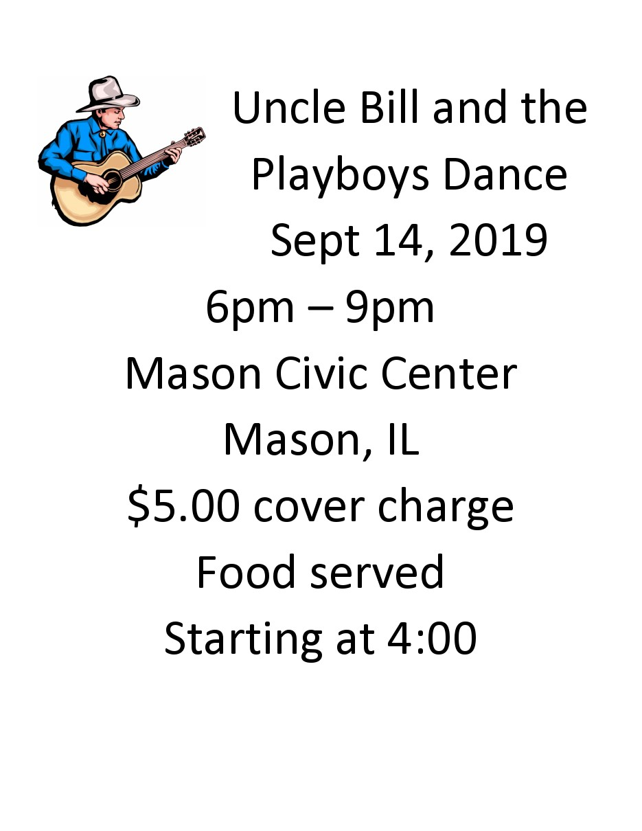 uncle bill sept 2019