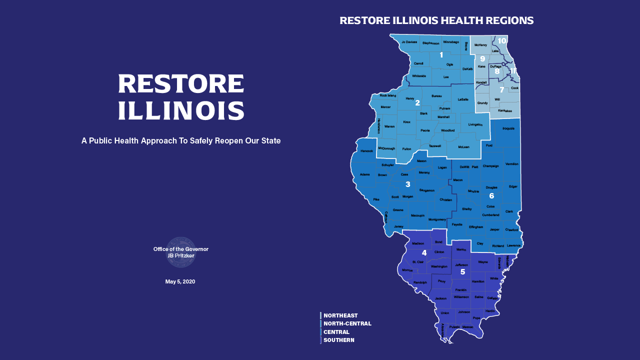 Illinois Announces It Will Reopen In Phases As It Battles The Coronavirus