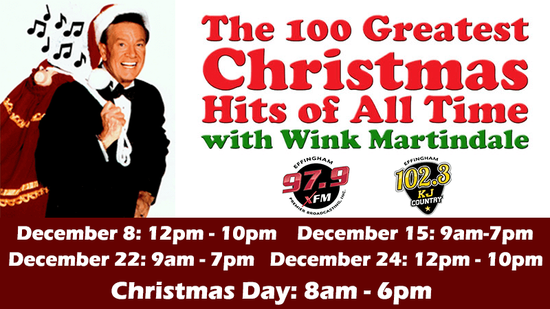 100 Greatest Christmas Songs of All Time - Effingham's News and Sports Leader, 979XFM and KJ ...